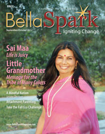 BellaSpark Magazine cover