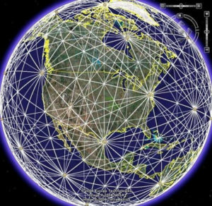 Photo of Leylines around the Planet